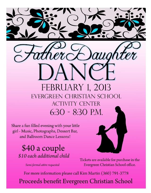 Father Daughter Dance Parentingpluspurpose